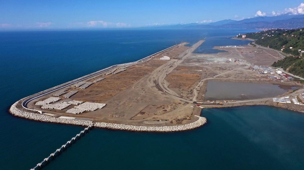 Rize-Artvin Havalimanı'nın yüzde 68'i tamamlandı (Kulesi 'çay bardağı' olacak) - 8