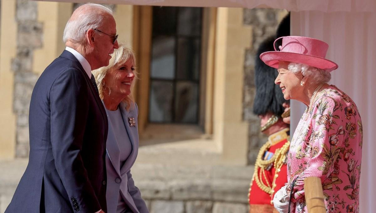 ABD Başkanı Biden, İngiltere Kraliçesi Elizabeth ile buluştu