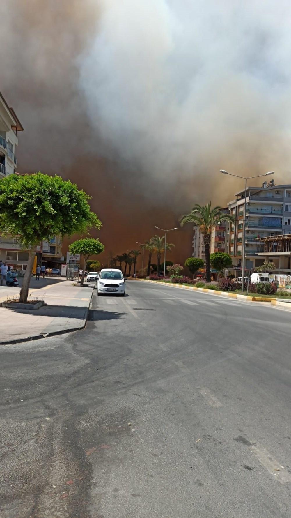 Antalya Manavgat'ta büyük yangın - 12