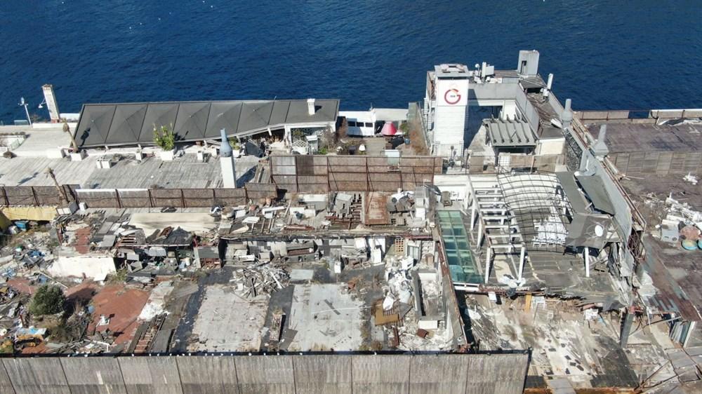 İstanbul Boğazı'nın ortasında moloz yığını - 4