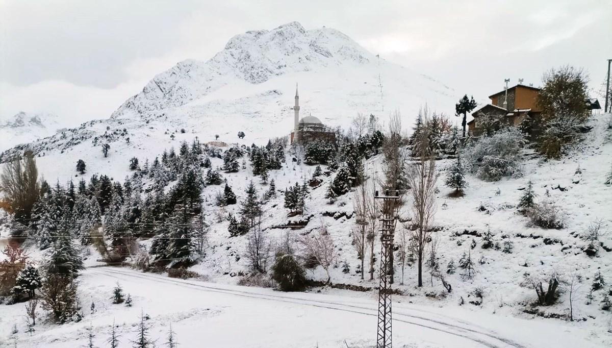 Türkiye'nin kış turizm merkezleri beyaza büründü