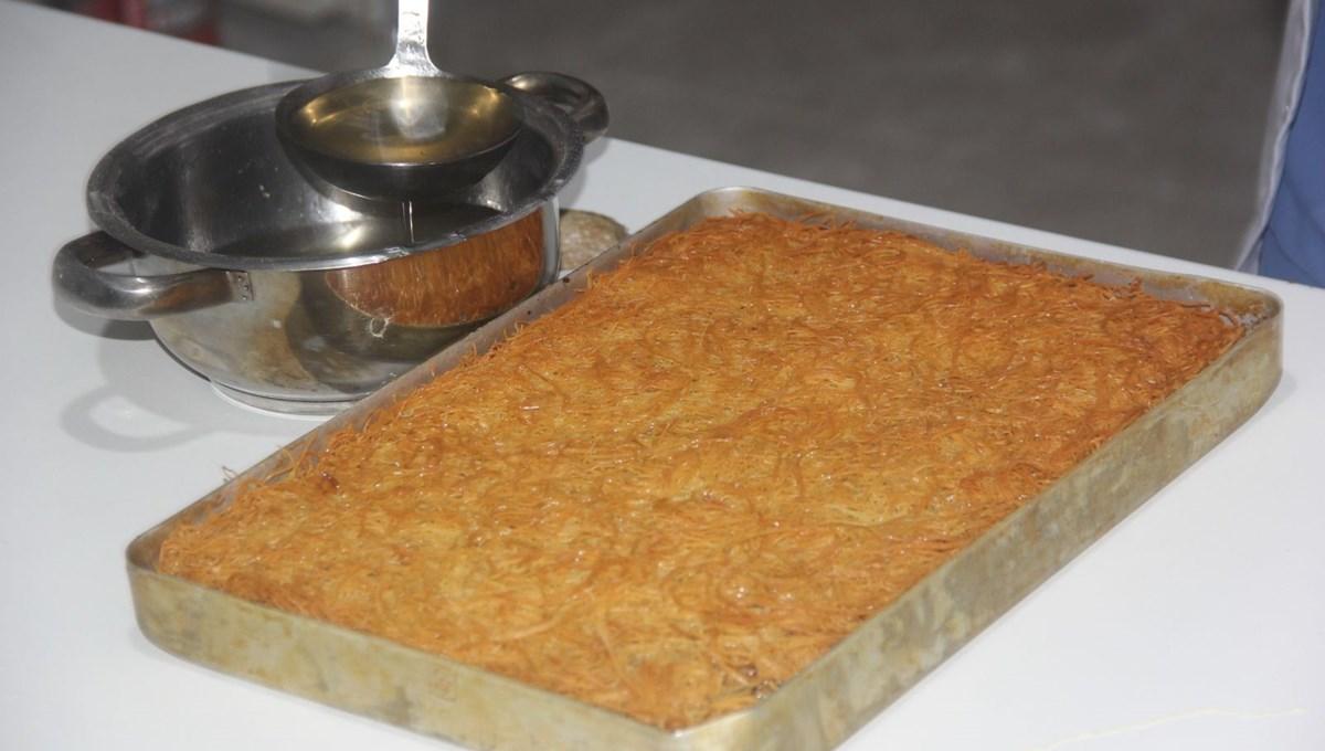 Erzincan'ın yöresel tatlılarından kesme kadayıfına coğrafi işaret