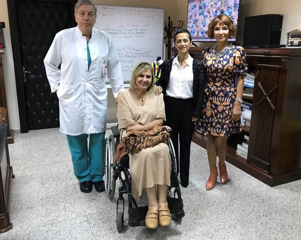 Prof. Dr. Ahmet Müslümanoğlu,Semra Çetinkaya, Tülay Karabağ,Eylem Beran