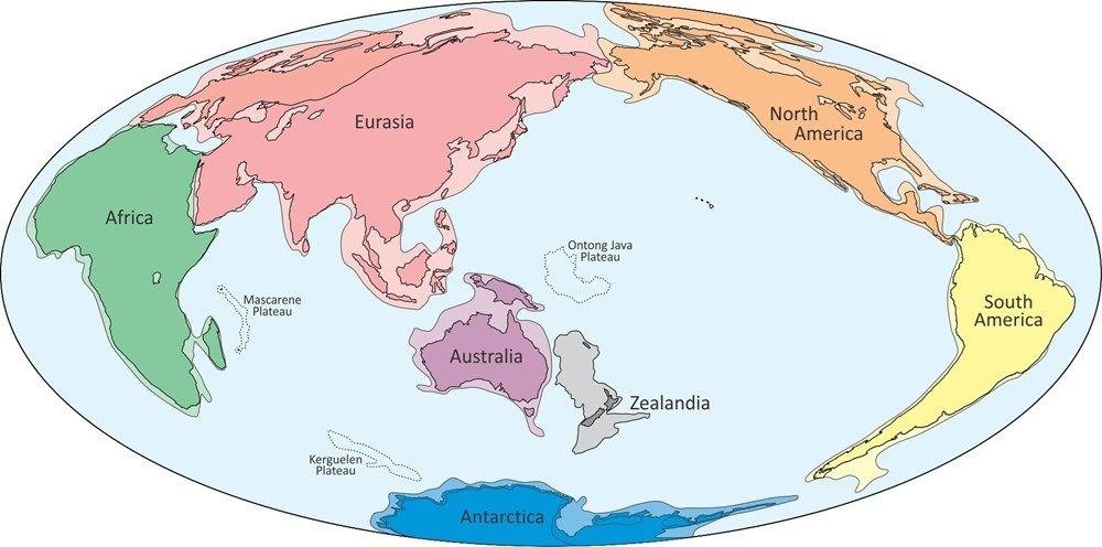 'Kayıp Kıta'nın haritası çıkarıldı - 4