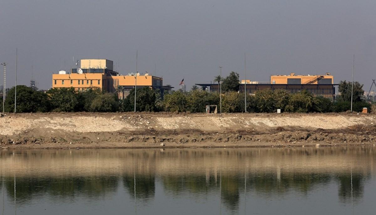 SON DAKİKA:Bağdat'taki ABD Büyükelçiliğine roketli saldırı