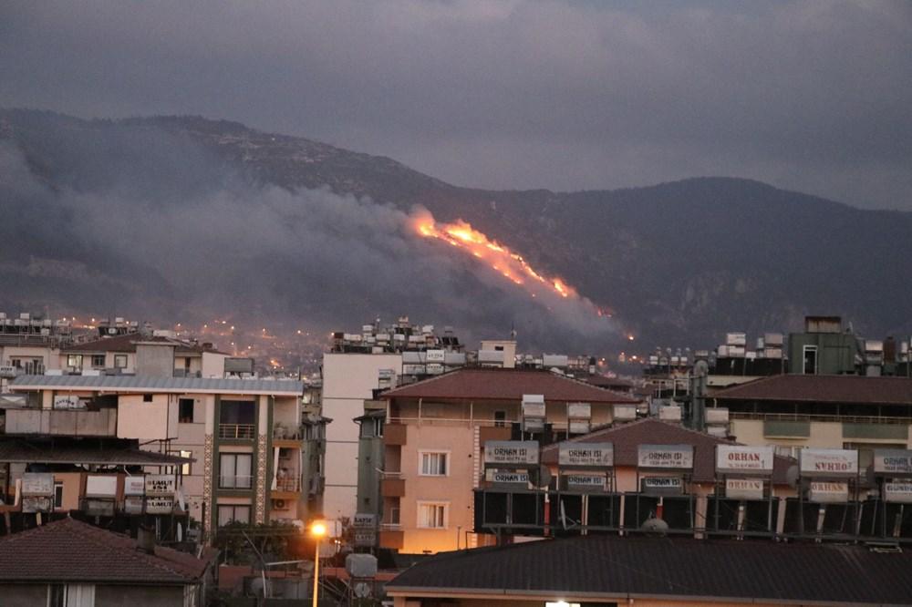 Hatay ve Mersin'de orman yangını - 9