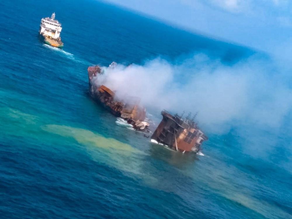 Kimyasal madde taşıyan gemi battı: Sri Lanka çevre felaketiyle karşı karşıya - 2