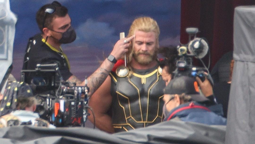 Thor: Love Thunder'dan kamera arkası görüntüler