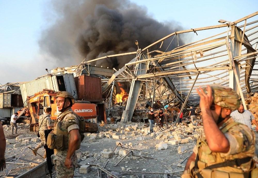 Beyrut'ta patlama: 100 kişi öldü, iki hafta OHAL ilan edildi - 1