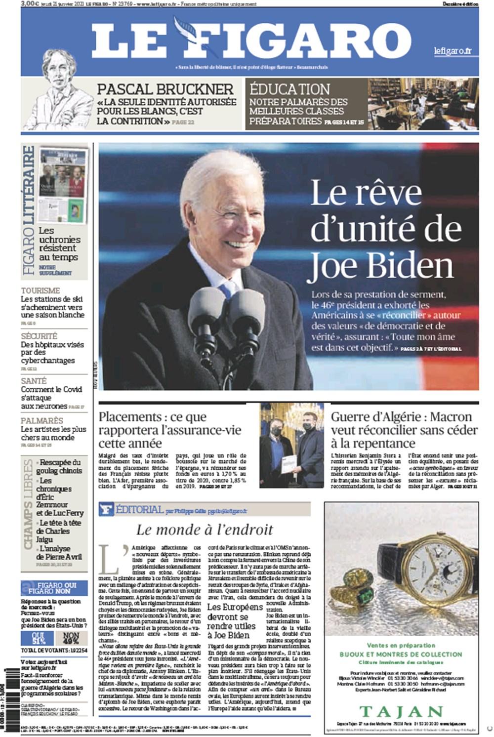 Dünya manşetlerinde Joe Biden: ABD'nin kurtuluşu - 13