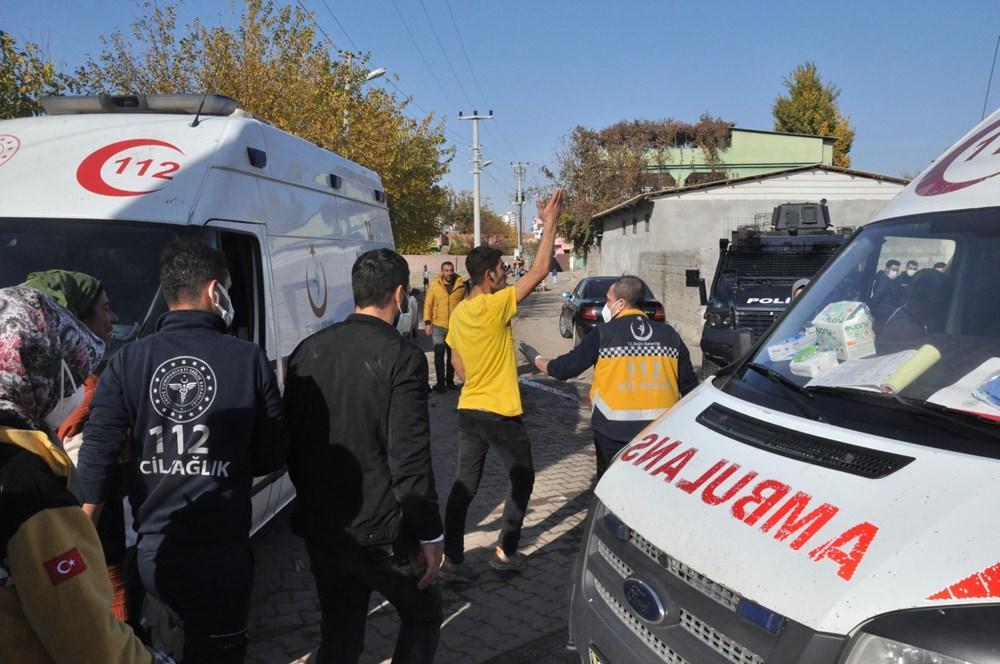 Diyarbakır'da kısıtlama gününde ortalık savaş alanına döndü: 20 yaralı - 12