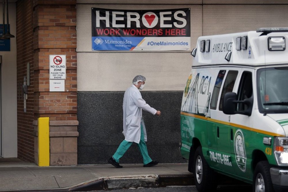 ABD'de bilanço son iki haftada ağırlaştı: Her dakika iki ölüm - 5