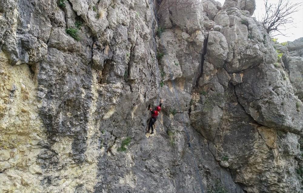 Adana'da mavi ile yeşili buluşturan Kapıkaya Kanyonu doğaseverleri bekliyor - 3