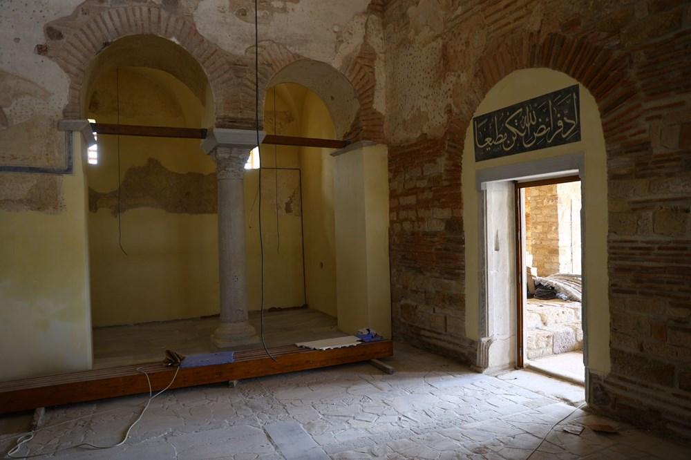 Edirne'deki tarihi Enez Fatih Camisi 56 yıl sonra ibadete açılıyor - 3