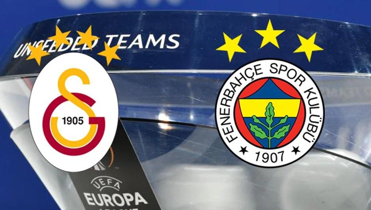 Avrupa Ligi'nde Galatasaray ve Fenerbahçe derbisi ihtimali