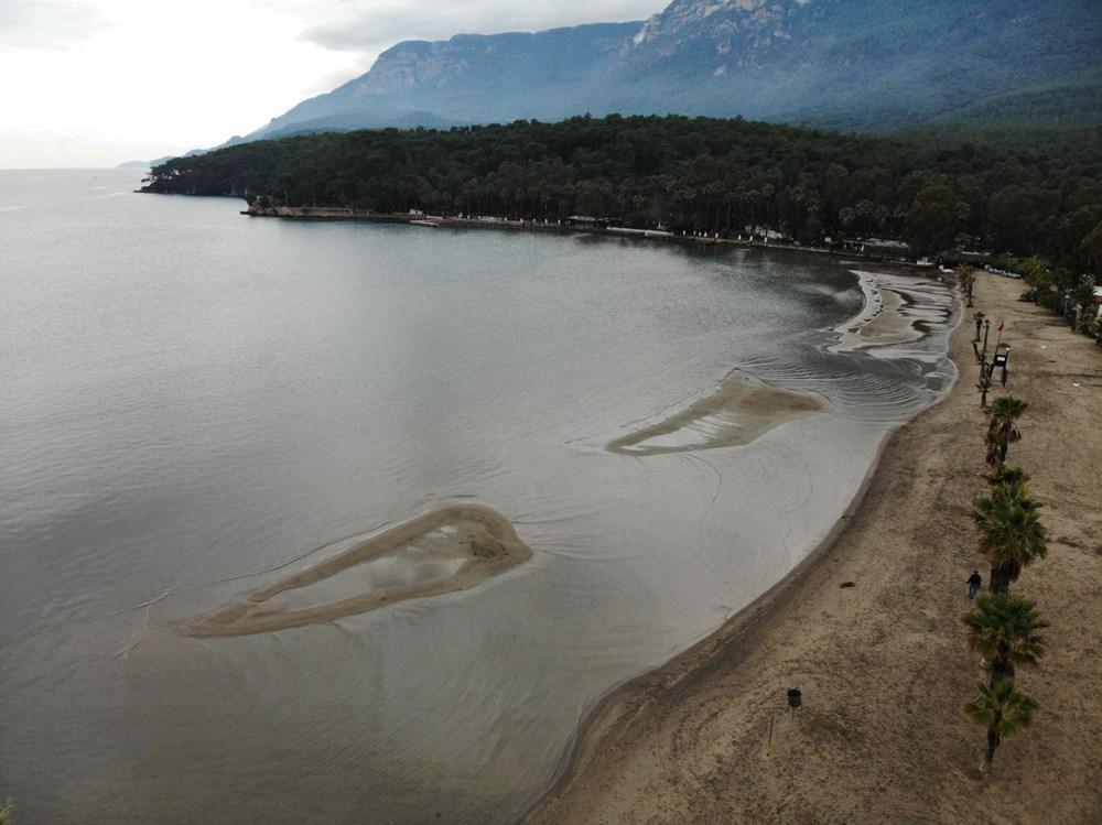 Muğla'da deniz suyu 40 metre çekildi - 4