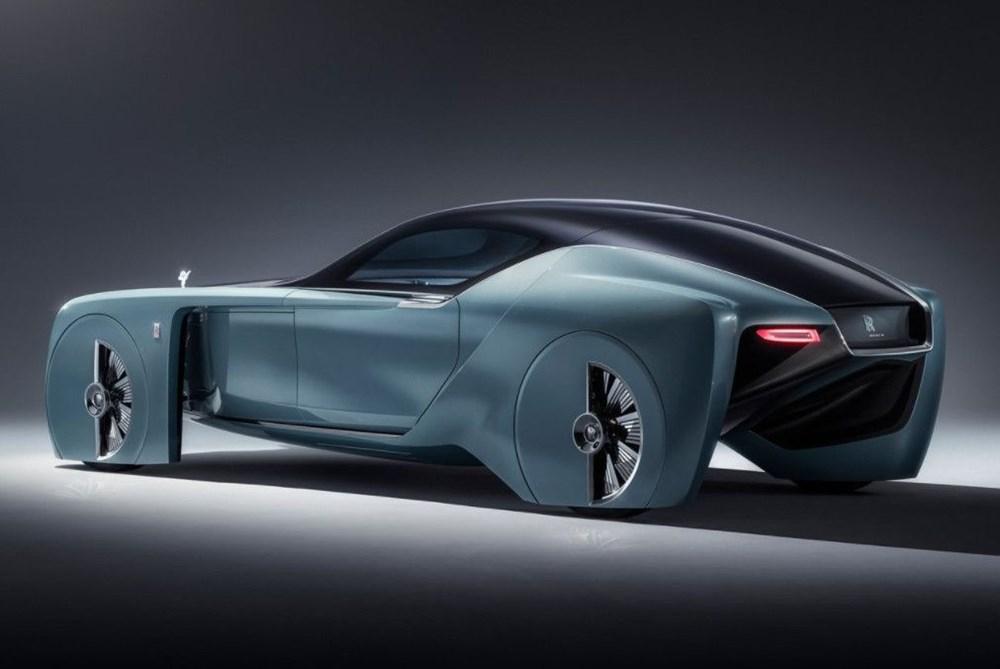 Rolls-Royce'un ilk elektrikli otomobili: İsmi açıklandı - 7