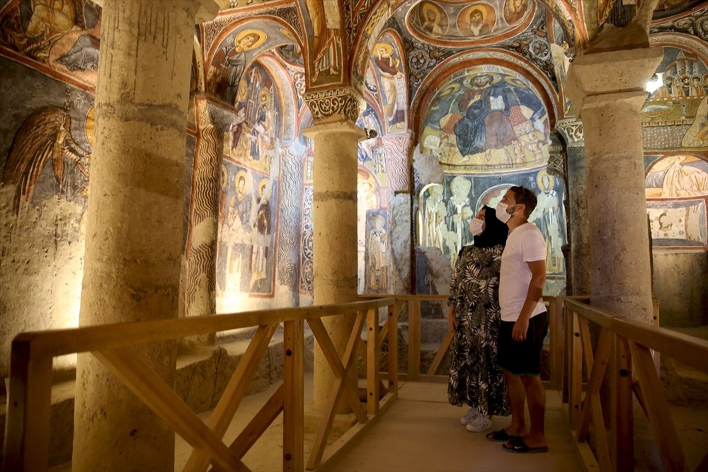 Karanlık Kilise'nin freskleri ile bin yıl öncesine yolculuk - 10
