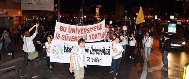 'Bu üniversitede iş güvencesi yoktur'