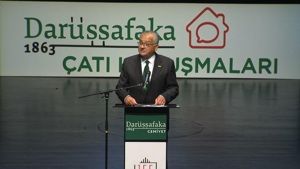 Darüşşafaka Cemiyeti Yönetim Kurulu Başkanı M. Talha Çamaş