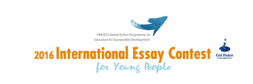 essay contest 2012 unesco Unesco international essay contest - dare2competecom  this annual essay contest is organized in an effort to harness the energy, imagination and initiative of the world's youth in promoting a culture of peace and.