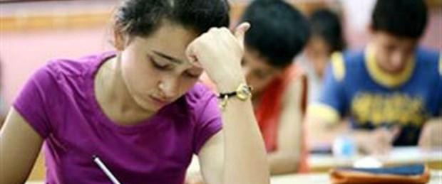 İlköğretim öğrencileri hafta sonu sınavda