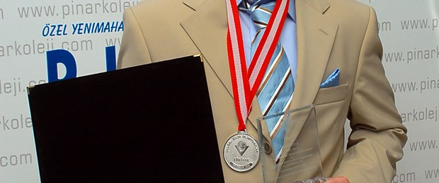 Matematik zekası altın madalya getirdi