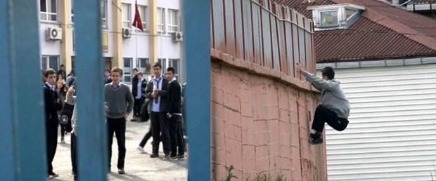 Okul kapılarına YGS kilidi