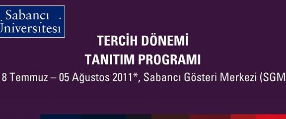 Sabancı Üniversitesi Tanıtım Günlerini Kaçırmayın!