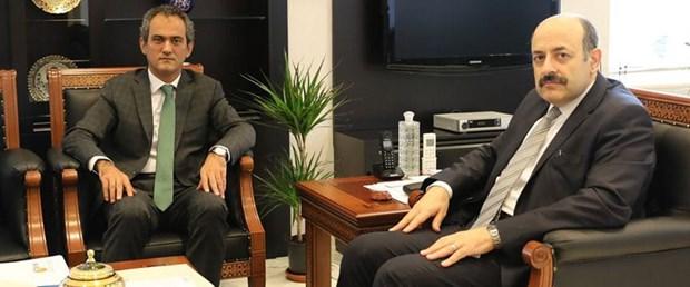 YÖK Başkanı Saraç ÖSYM Başkanı Özer ile görüştü