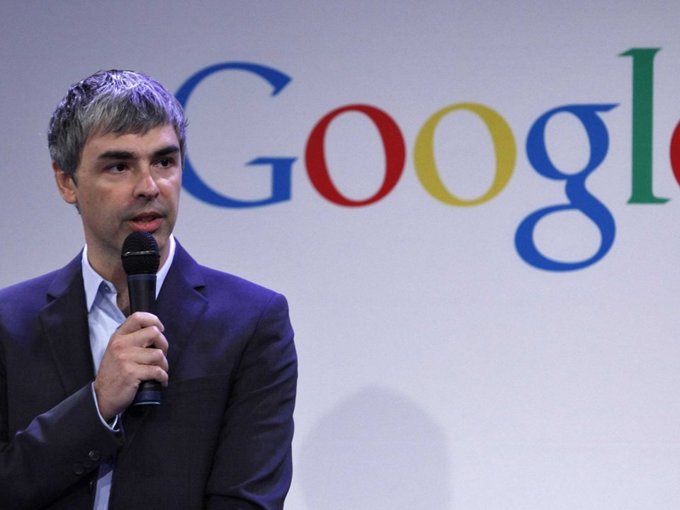 9. LARRY PAGE
