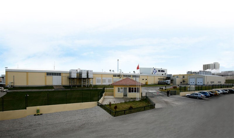 Ak Gıda Karaman fabrikası