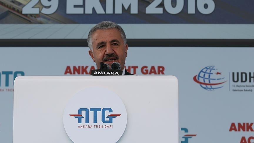 """""""ANKARA YHT GARI YILDA 15 MİLYON KİŞİYE HİZMET VERECEK"""""""