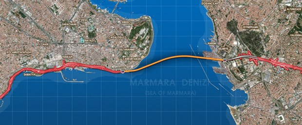 Avrasya Tüneli'nden hangi bölgeler etkilenecek?