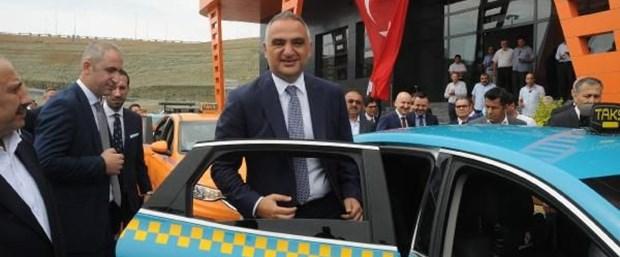 Bakan Ersoy istanbul taksi ile ilgili görsel sonucu