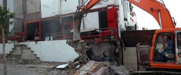 Bodrum'da yıkım