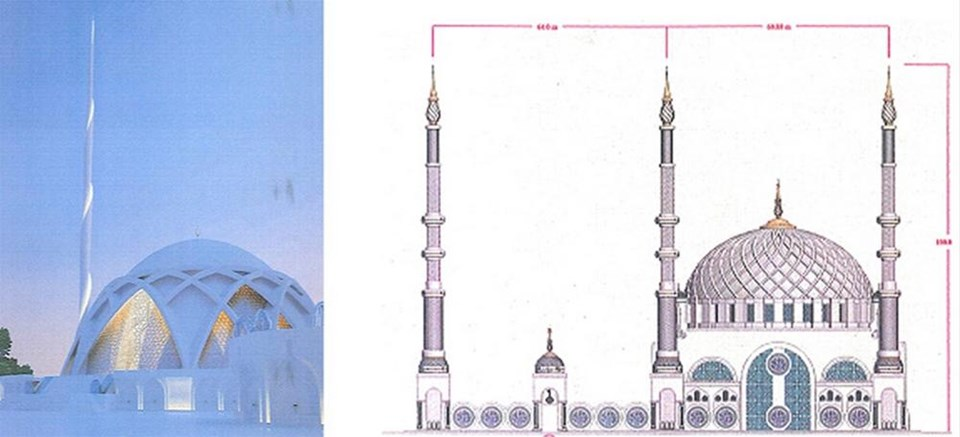 Çamlıca Camii projesi belli oldu