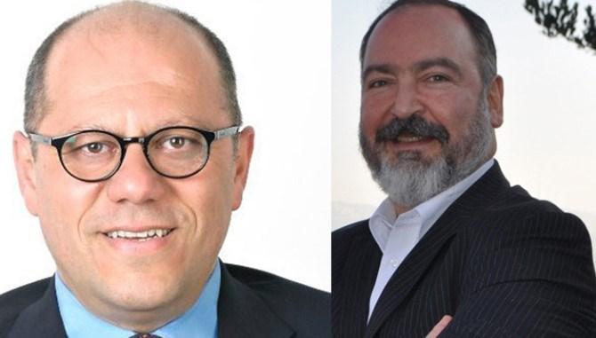 Ziya Hakan Ergin ve Mehmet Tevfik Nane (Soldan sağa)