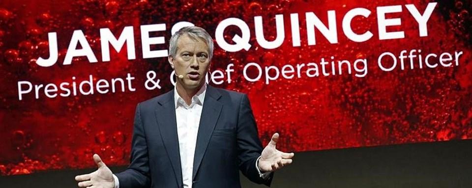 Coca Cola'nın yeni CEO'su James Quincey