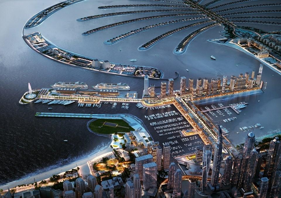 Dubai'yi lüks yatçılık için tercih edilen uluslararası bir destinasyona dönüştürmek amaçlanıyor.