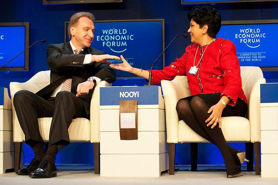 Davos'ta eksen kayması