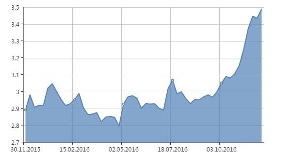 Dolar, Türk Lirası karşısında bu yıl yüzde 20 değer kazandı.
