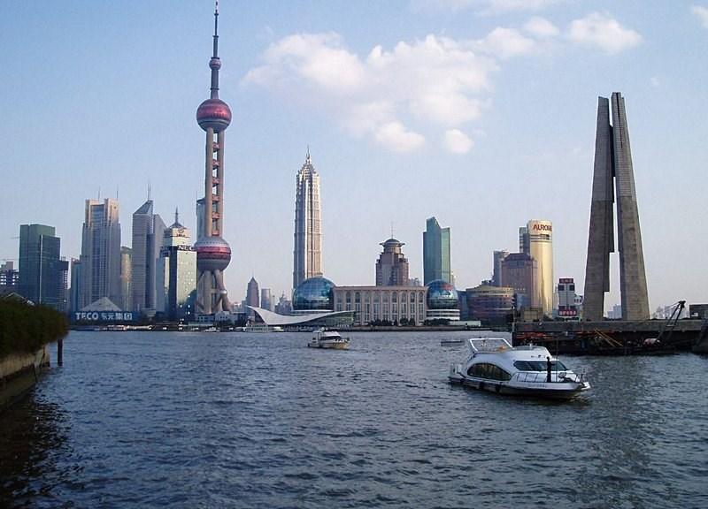 16-Şangay, Çin