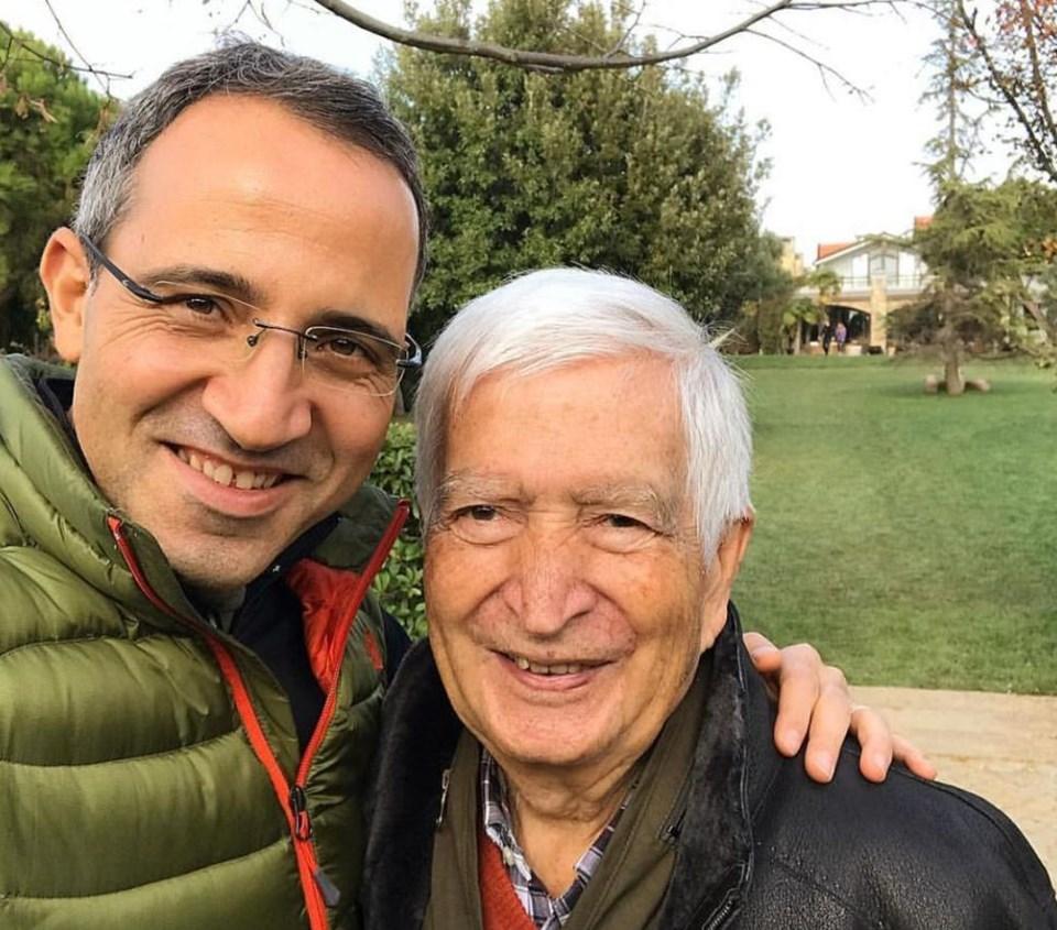 Milliyet Ekonomi Müdürü Şükrü Andaç, Güngör Uras ile birlikte