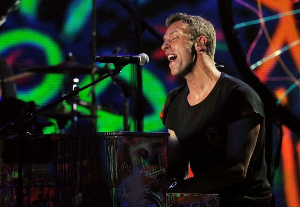 20.) Coldplay