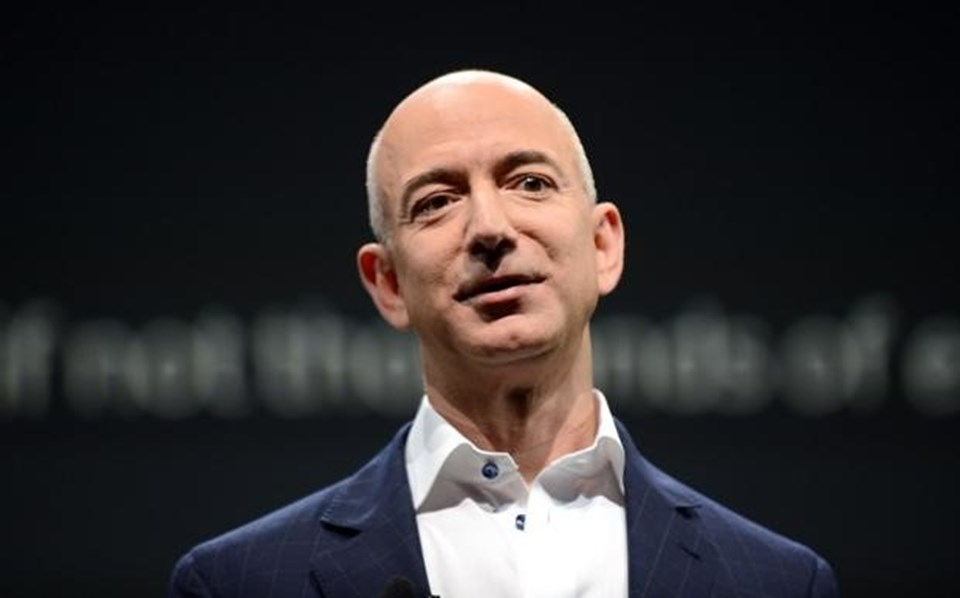 Amazon'un kurucusu ve CEO'su Jeff Bezos