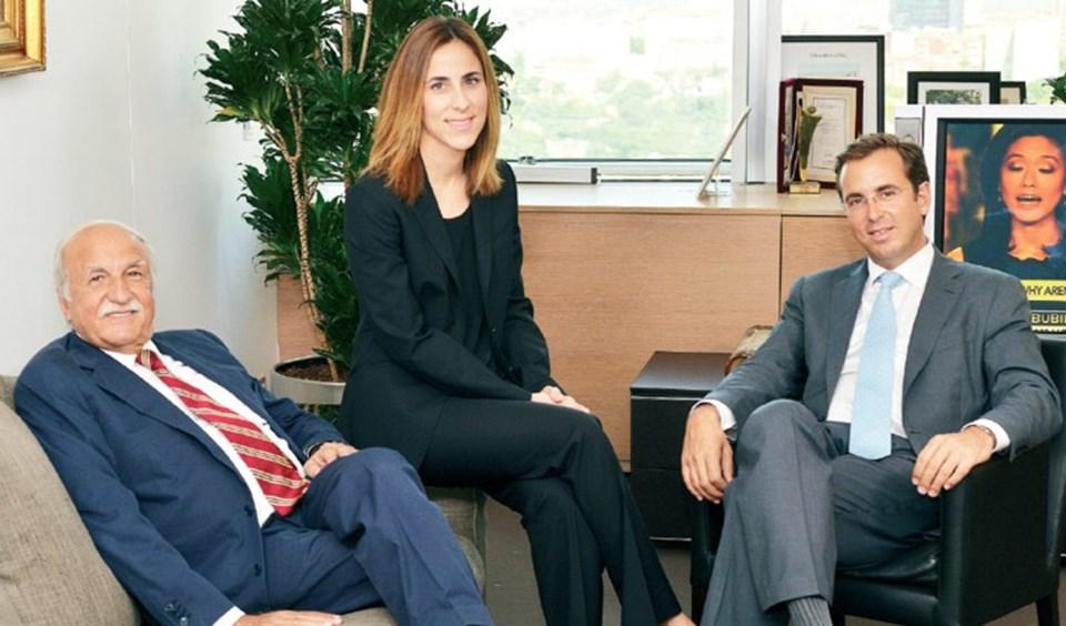 FİBA Holding'de iki kuşak Özyeğinler