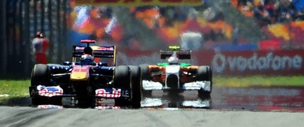 Formula 1 pisti eski bankacının