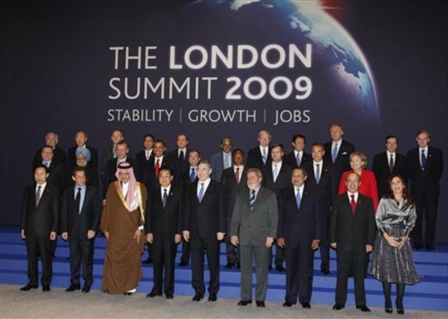 G20'de aile fotoğrafı
