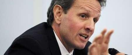Geithner: ABD'de cesaret verici sinyaller var